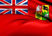 Red Ensign of South Africa (1910-1912) — Stock Photo