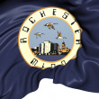 Flag of Rochester, USA. — Stock Photo #48194081