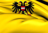 Holy Roman Empire Flag (1437-1493) — Stock Photo