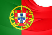 Flag of Portugal — 图库照片