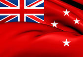 Civil Ensign of New Zealand — 图库照片