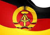Flag of German Democratic Republic — Stock Photo