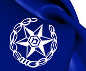 Flag of Israel Police — Stock Photo