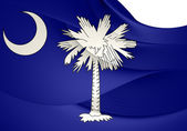 Flag of South Carolina, USA.  — Foto de Stock