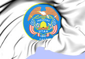State Seal of Utah, USA. — Stock Photo
