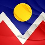 Flag of Denver, USA. — Stock Photo #48519409