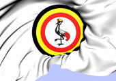 Roundel of Uganda — Stock Photo