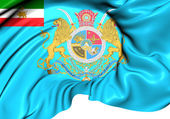 Crown Prince of Iran Flag — Stock Photo