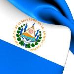 Flag of El Salvador — Stock Photo #48706837