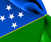 Flag of Solomon Islands — Foto Stock