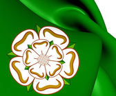 Flag of North Yorkshire, England.  — 图库照片