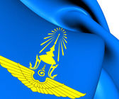 Royal Thai Air Force Flag — Stock Photo