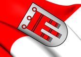 Flag of Vorarlberg, Austria.  — Stock Photo
