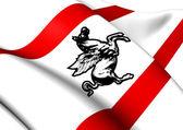 Bandera de toscana, italia. — Foto de Stock
