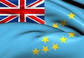 Vlajka tuvalu — Stock fotografie