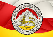 Flag of South Ossetia — Foto de Stock