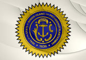 Seal of Rhode Island, USA.  — Stock Photo