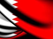 Flag of Bahrain — Foto de Stock