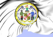 State Seal of Maryland, USA.  — Stock Photo