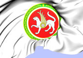 Tatarstan Coat of Arms, Russia.  — Stock Photo