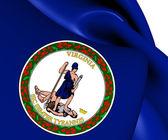 Flag of Virginia, USA.  — Stock Photo