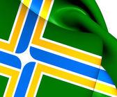 Flag of Portland, USA.  — Stock Photo