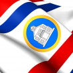 Постер, плакат: Governor of Sint Maarten Flag