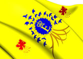 Royal Standard of Barbados — 图库照片
