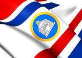 Governor of Sint Maarten Flag — Stock Photo
