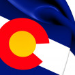 Flag of Colorado, USA. — Stock Photo #49396303