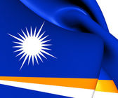 Republic of the Marshall Islands Flag — Stock Photo