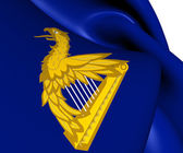 Ireland Eagle Harp Flag — Stock Photo