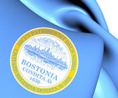 Flag of Boston, USA.  — Stock Photo