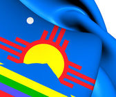 Flag of Roswell, USA.  — Stock Photo