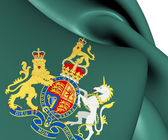 Royal Coat of Arms of United Kingdom — Stock Photo