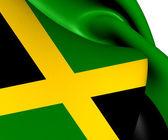 Flag of Jamaica — Stock Photo
