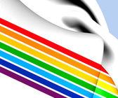 Jewish Autonomous Oblast Flag, Russia.  — Stock Photo