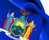 Flag of New York State, USA.  — Stock Photo