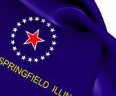 Springfield, abd bayrağı. — Stok fotoğraf