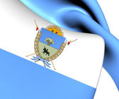 La Pampa Province Flag, Argentina.  — Stock Photo