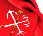 Flag of Saint Petersburg, Russia.  — Stock Photo