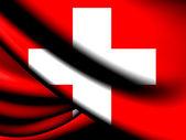 Flag of Switzerland — Stock Photo