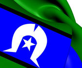 Torres Strait Islanders Flag — Stock Photo