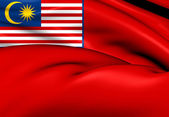 Civil Ensign of Malaysia — Stock Photo
