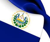 Flag of El Salvador — Stock Photo
