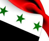 Flag of Iraq (1963-1991) — Stock Photo