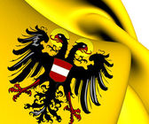 Holy Roman Empire Flag (1437-1493) — Photo