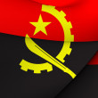 Flag of Angola — Stock Photo #51307305