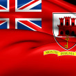 Постер, плакат: Civil Ensign of Gibraltar
