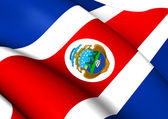 Flag of Costa Rica — Stock Photo